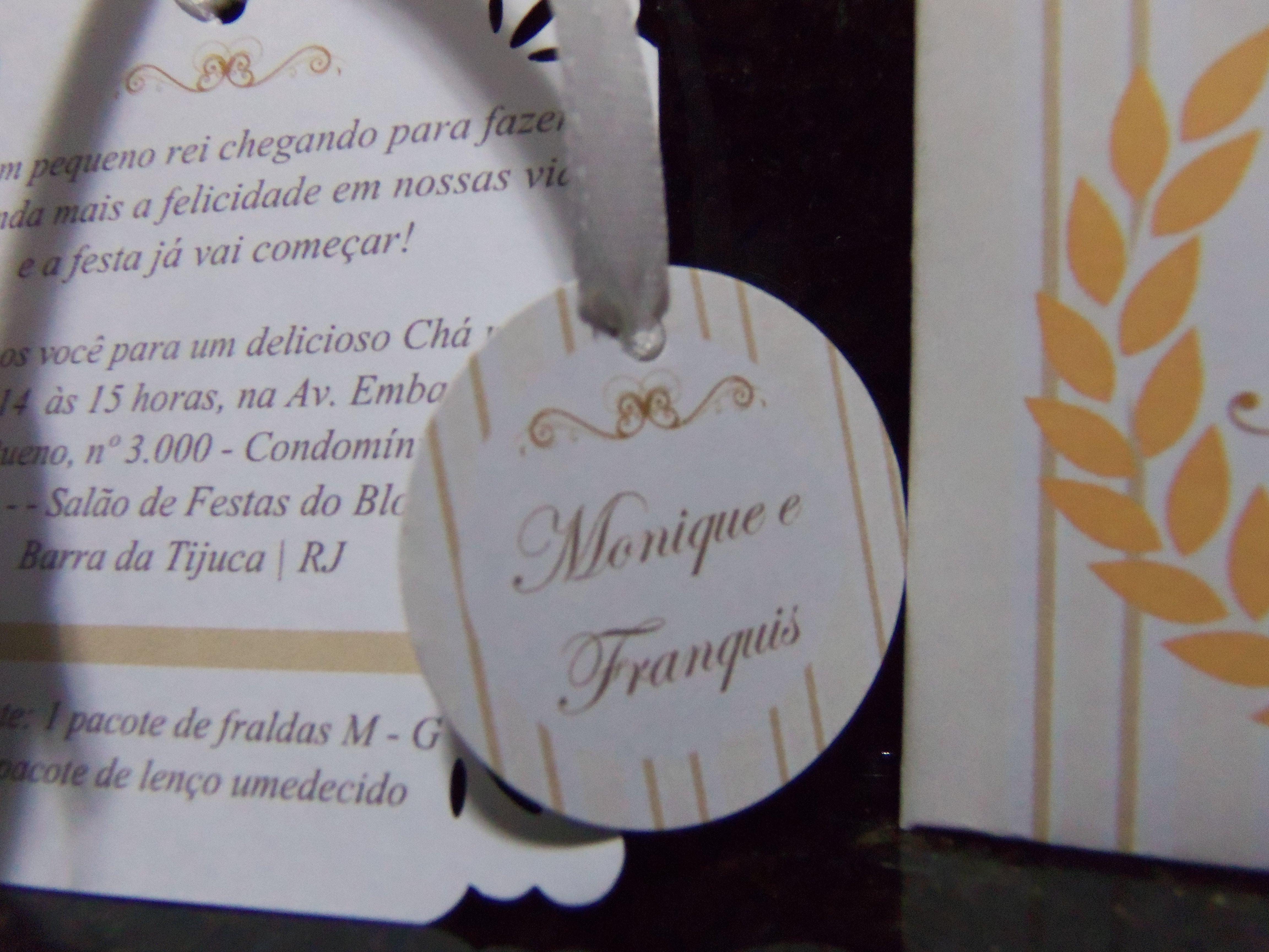 Convite Chá De Fraldas Do Pedro Papel Com Alegria